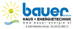 bauer - Haus + Energietechnik